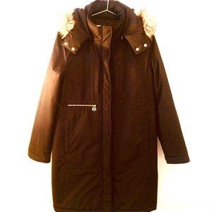 MICHAEL KORS Winter Coat/Faux Fur trim hood